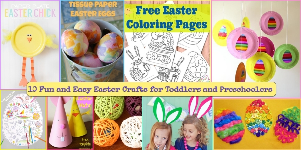 fun easter crafts 10 easy and fun easter crafts for kids jkwdesigns